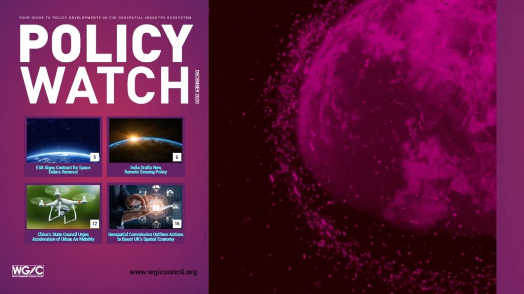Space, AI, UAVs, Data policies featured in the WGIC Policy Watch Newsletter this December 2020